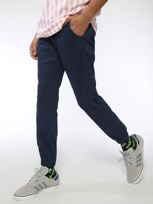 AMON Ankle Length Slim Fit Trousers
