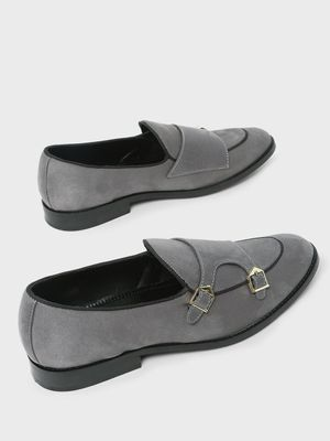 Griffin Monk Strap Loafers