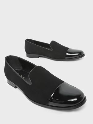 Griffin Patent Toe Cap Loafers