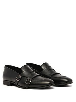 KLEAT Monk Strap Loafers
