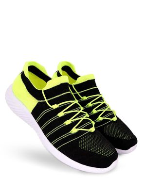KLEAT Flyknit Colour Block Lace-Up Shoes