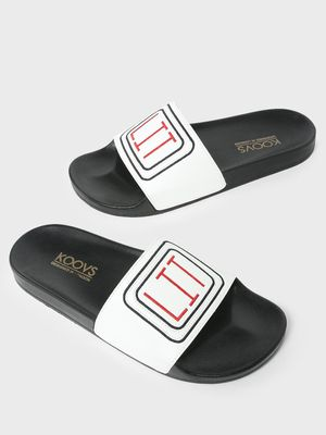 KOOVS Pool Side Printed Slides