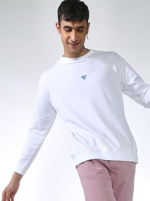 Blue Saint Basic Slim Fit Sweatshirt