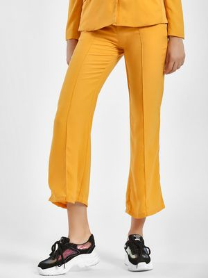 Street9 Front Tie-Up Cropped Trouser