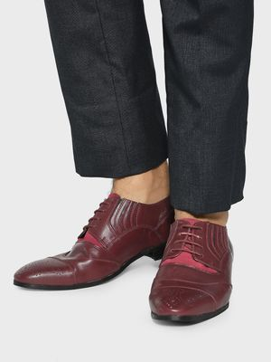 Corso Venezia Toe Punches Panelled Oxford Shoes