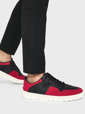 KOOVS Rubber Panel Casual Sneakers