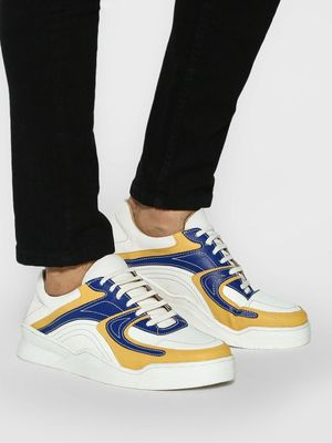 Kindred Multi-Panel Lace-Up Sneakers