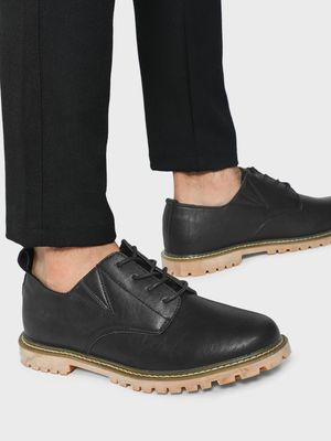 KOOVS Cleated Sole Boots