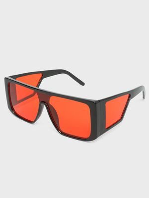 Fuzoku Square Rim Fat Boy Oversized Sunglasses