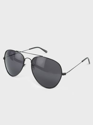 Fuzoku Black Pilot Sunglasses