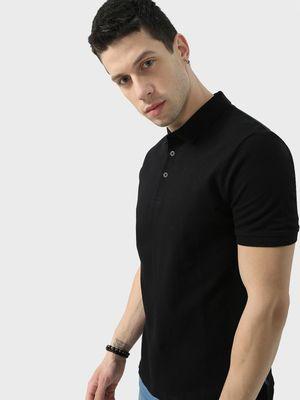 Blue Saint Basic Short Sleeves Polo-Tshirts