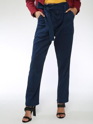 Blue Saint Tie-Up Basic Trousers