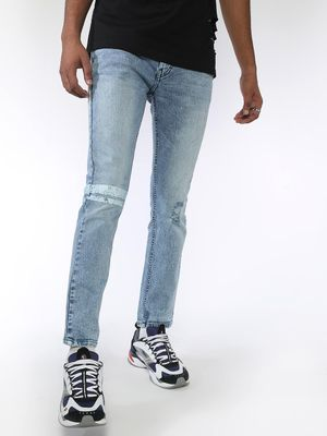 Blue Saint Light Wash Light Distressed Jeans