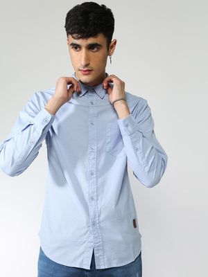 Blue Saint Basic Long Sleeves Shirt