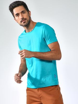 Blue Saint Basic Crew Neck T-shirt