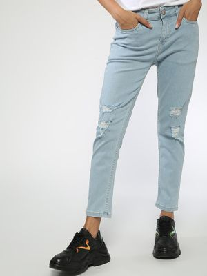 Blue Saint Casual Ripped Jeans