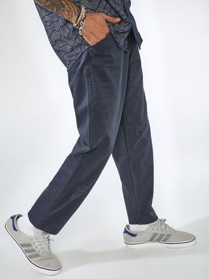 Blue Saint Basic Regular Fit Trousers