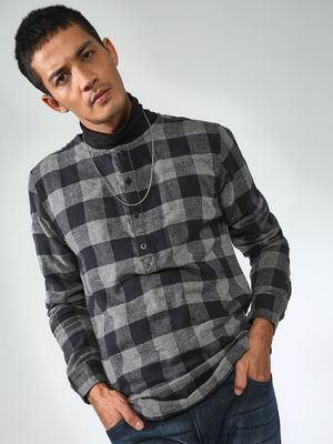 Blue Saint Check Casual Shirt