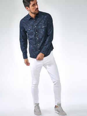 Blue Saint All-over Printed Shirt