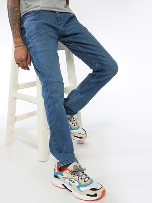 Sheltr Light Wash Slim Fit Jeans