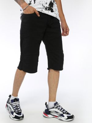 Sheltr Slim Fit Panelled Shorts
