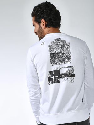Sheltr Graphic Placement Print Sweatshirt