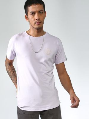 Sheltr Basic Curved Hem Tshirts