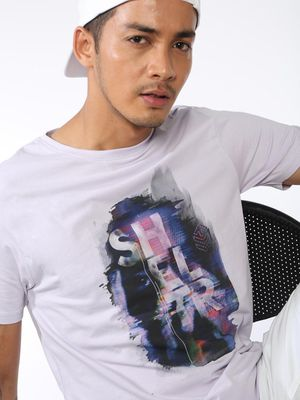 Sheltr Graphic Printed Slim Fit T-Shirt