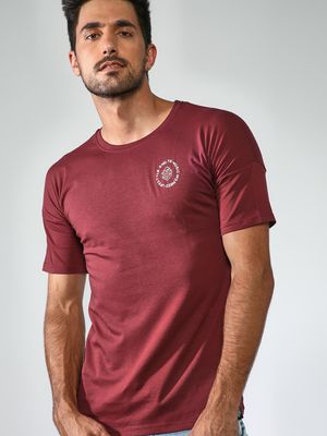Sheltr Plain Round Neck Tshirts
