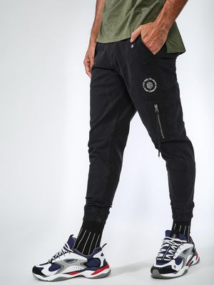 Sheltr Utility Pocket Zipper Panel Joggers