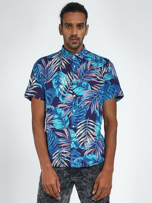 Green Hill All Over Printed Casual Shirt