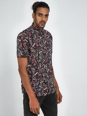 Green Hill All Over Printed Shirt