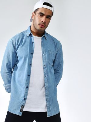 KOOVS Long Sleeve Regular Fit Shirt