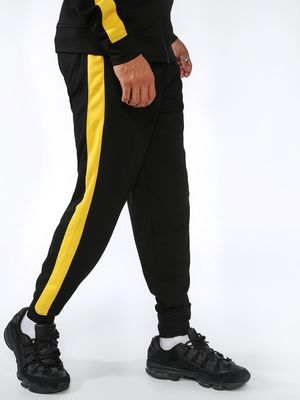 SID & SOM Contrast Side Tape Joggers