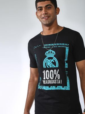 REAL MADRID Graphic Print T-Shirt