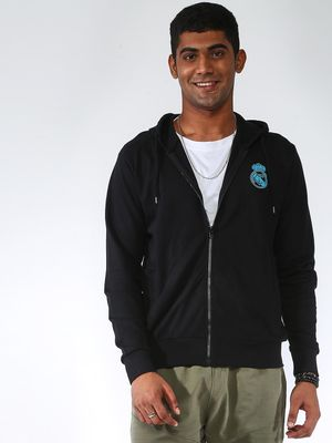 REAL MADRID Basic Slim Fit Sweatshirts