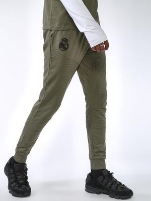 REAL MADRID Biker Panel Slim Fit Jog Pants
