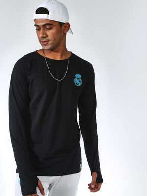 REAL MADRID Thumb Hole Long Sleeve T-Shirt