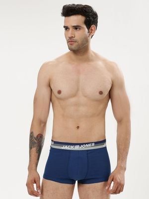 Jack & Jones Logo Print Waistband Trunks