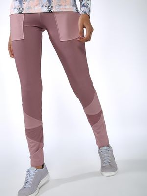 Vajor Contrast Patch Detail Leggings