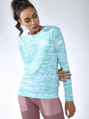 Vajor Back Cut-out Crew Neck Top