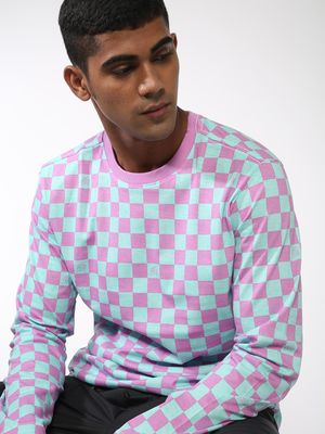 ABG Checkerboard Long Sleeve T-Shirt