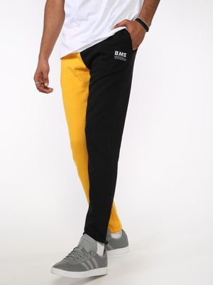 ABG Contrast Colour Block Slim Joggers