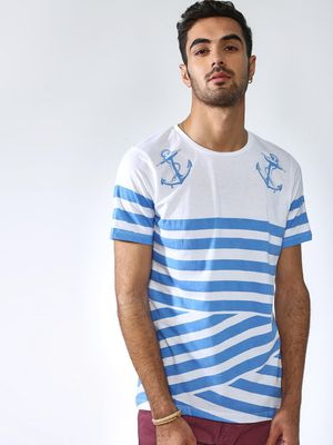 IMPACKT Colour Block Multi Stripe T-Shirt