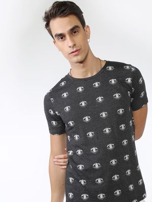 IMPACKT All Over Eye Print T-Shirt