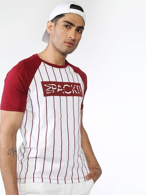 IMPACKT Vertical Striped T-shirts