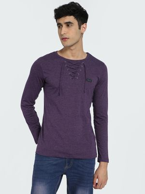 IMPACKT Eyelet Detail Long Sleeve T-Shirt