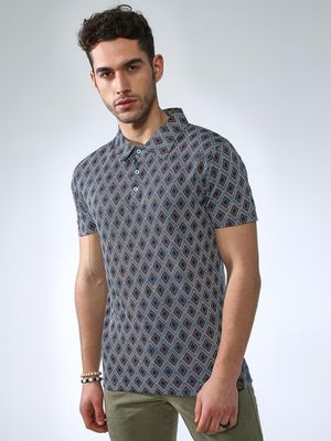 SMUGGLERZ Inc. All Over Print Polo Shirt
