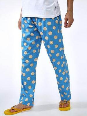 SMUGGLERZ Inc. All Over Lemon Print Trousers
