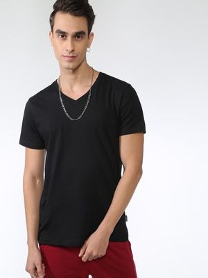 KOOVS Casual Regular Fit T-Shirt